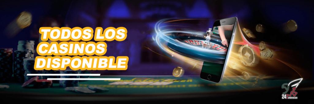 Casinos Disponibles en México 2021
