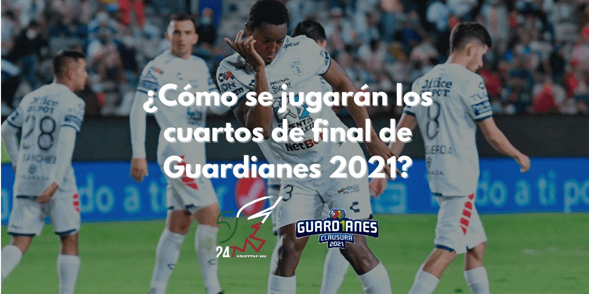 ¿Cómo se jugarán los cuartos de final de Guardianes 2021?